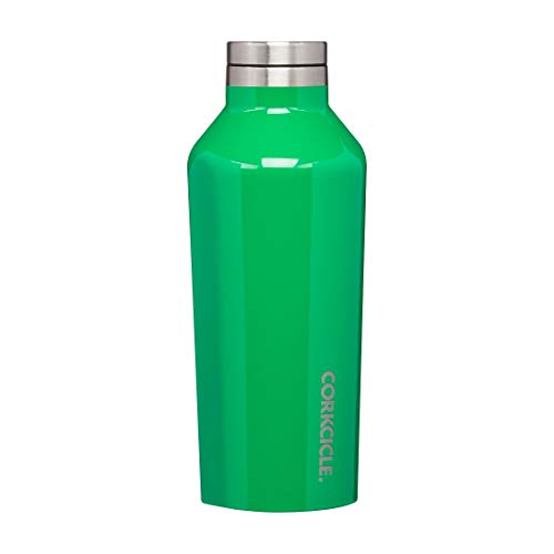 Corkcicle - Botella térmica Canteen de 270 ml, color verde