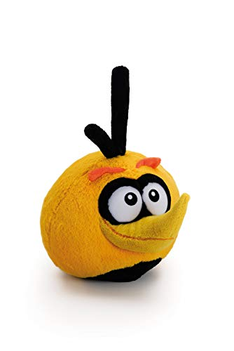 Angry Birds Bubbles Soft Plush Cuddly Toy, Yellow/Black, 8 inch