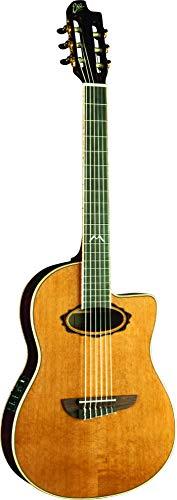 EKO MIA IV Nylon Eq Natural - Guitarra eléctrica acústica