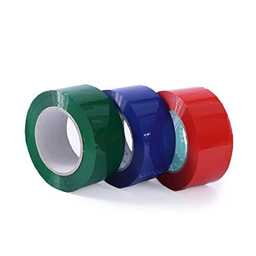3 rollos de cinta de serigrafía, cada rollo mide 1,9 cm de ancho x 109 m de largo, apto para serigrafía, pintura, etc. (rojo, verde, azul)