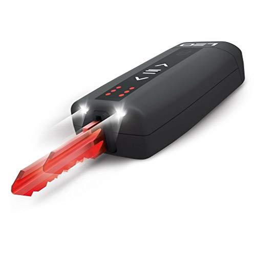 LEO SMARTKEY – Portachiavi completamente automatico per fino a 6 chiavi – con illuminazione a LED – con produzione portachiavi e consegna gratuita.