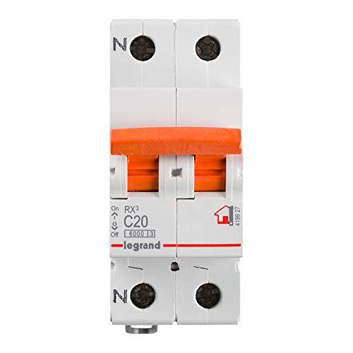 Legrand, Interruptor Diferencial, Protector de sobrecargas, 20A