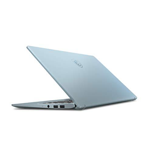 "MSI Modern 14 B10MW-050XES - Ordenador portátil de 14"" FullHD (Intel Core i7-10510U, 16GB RAM, 1TB SSD, Intel UHD Graphics, sin sistema operativo) azul - Teclado QWERTY Español"