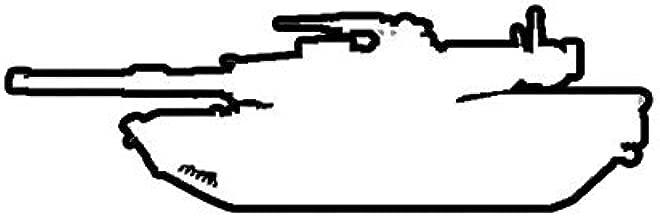 ION Graphics M1A1 Abrams Sticker Die Cut Decal M1 Tank 5