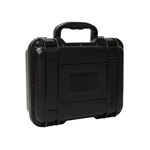 Eariy compatible con Dji Mavic Mini Rc Drone, impermeable, caja de viaje compacta para maleta, bolsa de transporte, para transportar tu dron de forma segura y cómoda con un mango integrado, Negro