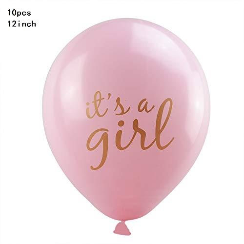WZRQQ Baby Print Jongen Meisje Ballon Glitter Papier Banner Baby Douche Geslacht Show Zwangerschap Verjaardag Party Decoratie