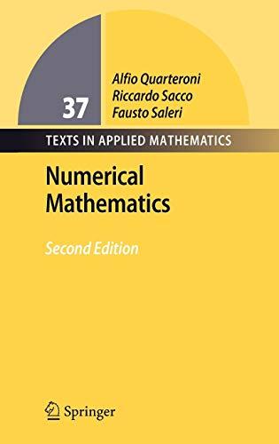 Numerical Mathematics (Texts in Applied Mathematics)