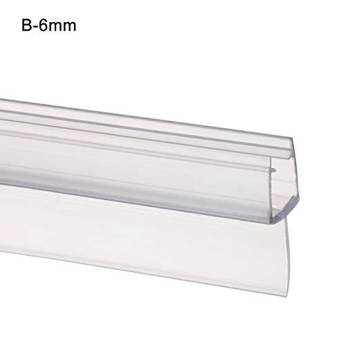 1Pcs Bagno di Schermo Porta Doccia Striscia della Guarnizione di 50 Cm da 4 A 12mm Seal Gap Window...