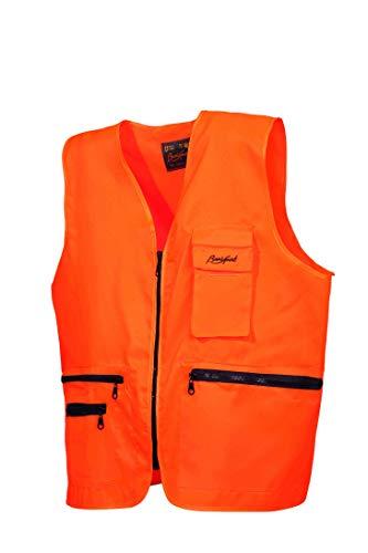 BENISPORT Chaleco Naranja fluoresente Basic Line Talla M