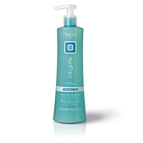 Crème d'utilisation fréquente Daily Faipa Ligne Citylife 375 ml pour tous les types de cheveux