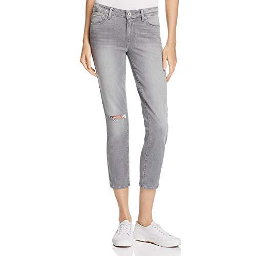 PAIGE Women's Verdugo Transcend Ultra Skinny Crop Jean, Stone Grey...