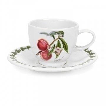 Portmeirion - Set 6 Tazze con piattino per Espresso