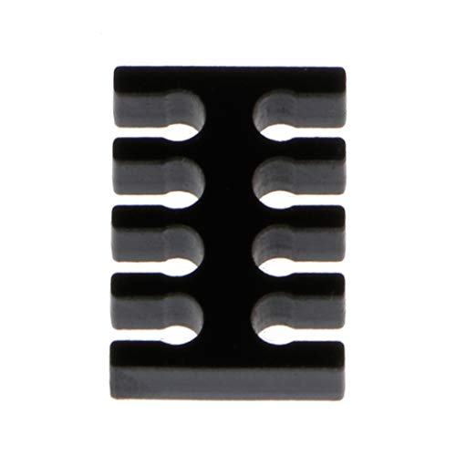 Arcylic Cable Comb/Cable Clamp/Clip voor kabel zonder slang (AD 2,5-3,0 mm)