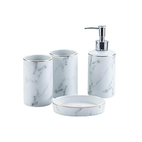 Ldd Conjunto de baño de mármol Gris