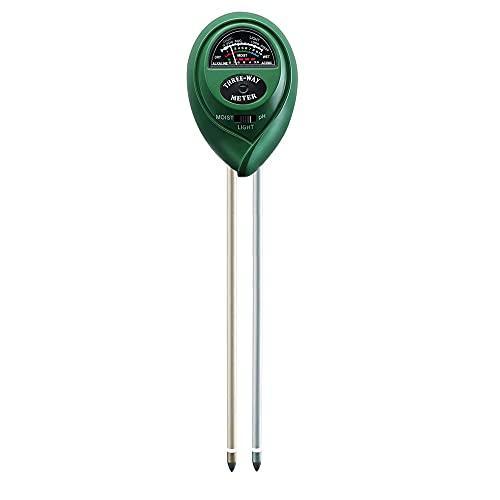(ティーシーセレクト) TC-select 土壌測定器 土壌酸度計 水分量計 照度計 PH測定器 テスター