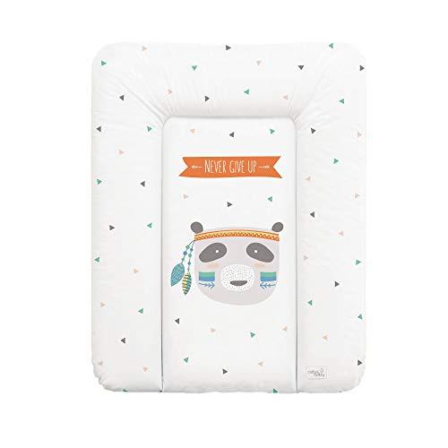 Wickelauflage Wickelunterlage Wickeltischauflage 70x50 cm Abwaschbar für Mädchen und Junge - Osito 70x50