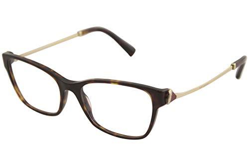 Bulgari Unisex volwassenen 0BV 4159B 504 54 zonnebril, bruin (Dark Havana),