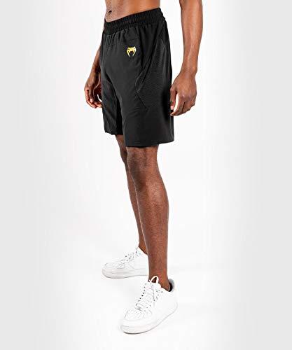 Venum G-Fit Pantalones Cortos De Entrenamiento, Hombre, Negro/Dorado, M
