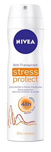 Nivea Deo Stress Protect Spray, Antitranspirant, 6er Pack (6 x 150 ml)