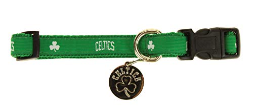 Sporty K9 NBA Dog Collar, Boston Celtics Small