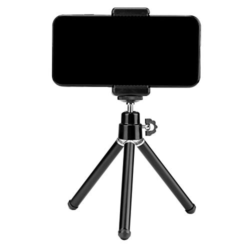 Photron Stedy 150 Mini Tripod with Smartphone Holder for GoPro   Digital Camera Travelling   Maximum Operating Height: 165mm   Weight Load Capacity: 1kg, Case Included