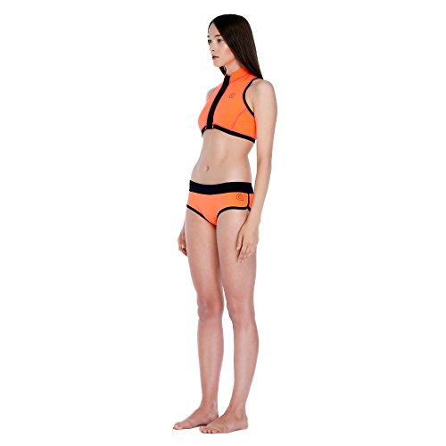GlideSoul Damen Neopren Bikini-Shorts XX-Small Peach/Black