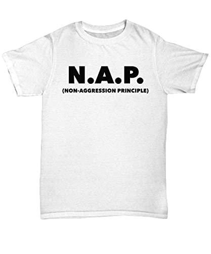 Camiseta Libertarian, principio de no agresión, camiseta, camiseta N.A.P, día de San Valentín