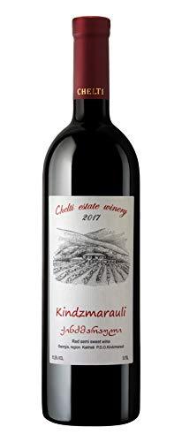 Kindzmarauli - Georgischer Rotwein, halbsüß - Chelti Winery
