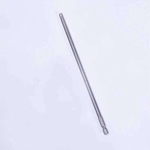 Utoolmart 200mm Length Tip Hexagon Magnetic Screwdriver Insert Bits 10 Pcs