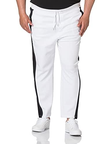 Armani Exchange Pants Pantalón Deporte, White Navy Black, XS para Hombre