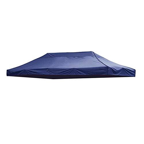 Yanchuan Shade tarpaulin 3x6m Big Size Replacement Oxford Tarp Waterproof Garden Tent Sun Shelter Gazebo Canopy Outdoor Marquee Market Shade Anti UV Tent (Color : Blue)