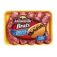 Johnsonville Original Bratwurst, 5 Pound -- 2 per case.