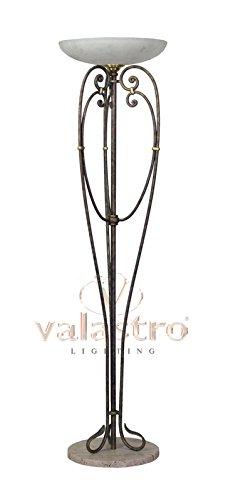 VALFB40010 DORIAN - Chandelier - L'éclairage intérieur - Lampadaire en fer forgé - socle en marbre - fabriqué en Italie par Valastro éclairage