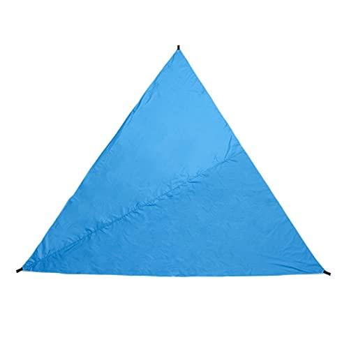 YNLRY 3M Triangular Impermeable Tienda de campaña jardín Patio toldo toldo Sun Shelter (Color : Deep Blue)
