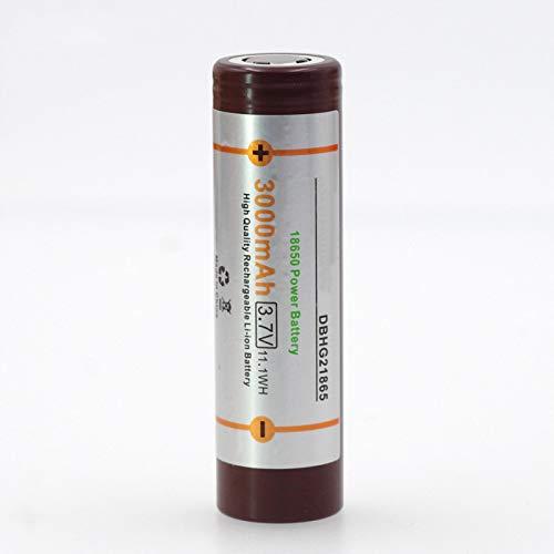 MeGgyc 18650 3000mAh batería 3.6V Descarga 20A dedicada para Modelos de aeroplanos, Autos, baterías de Bicicletas eléctricas
