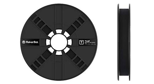 MakerBot 375-0007A Tough PLA, 2 lb, 1.75Millimeters, Onyx Black
