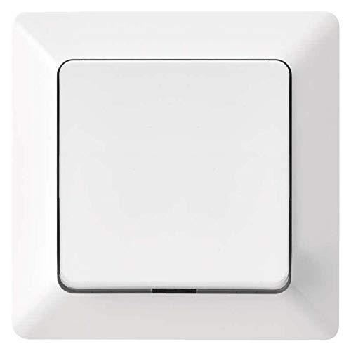 Kreuzschalter Unterputz Lichtschalter weiß 10 A, 230 V Schalter licht Serie EMOS