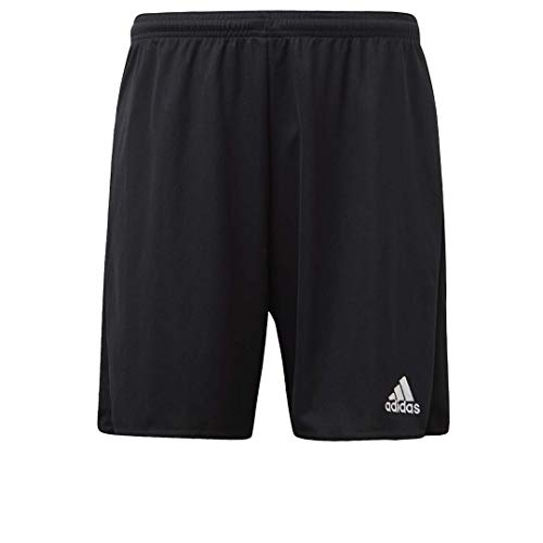 adidas Mens Parma 16 Shorts Black/White Medium