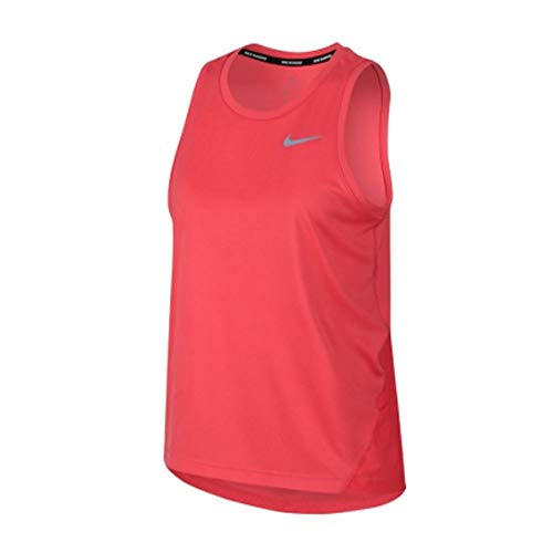 NIKE Camiseta Miler Rosa Mujer