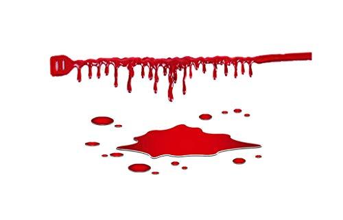 YYRZGW droppe blod halsband läskig blod droppar choker blödningar choker för kvinnor halloween vampyr cosplay kostym tillbehör röd