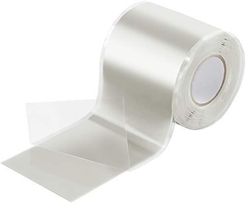 Poppstar 3m selbstverschweißendes Silikonband, Silikon Tape Reparaturband, Isolierband und Dichtungsband (Wasser, Luft), 50mm breit, transparent