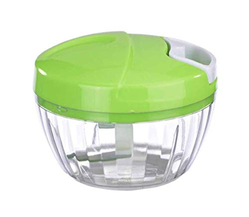Lszdp-negozio Batidora de Mano Multifuncional Picadora de Carne Vegetal Trituradora de ajo Manual Licuadora portátil