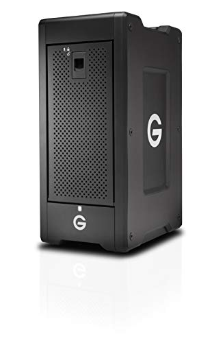 G-Technology 144TB G-Speed Shuttle XL Thunderbolt 3 with ev Series Bay Adapters – Transportable 8-Ba