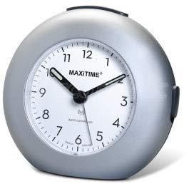 Maxitime Funkwecker mit Snooze, Crescendo Alarm und Licht