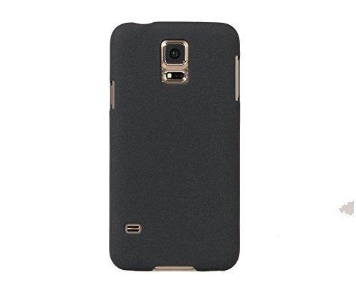ARTILVST Samsung Galaxy S5 Funda,Ultra fino medio rodeó la estructura de superficie mate Durable PC Protector teléfono funda para Samsung Galaxy S5 Smartphone [negro]