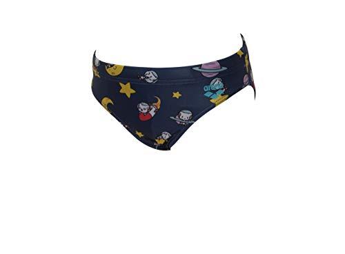 ARENA Space Cats Slip Nuoto da Bambino, Navy-Multi/Multicolore, 4-5