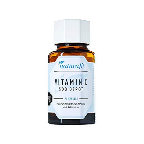 naturafit Vitamin C 500 Depot Kapseln, 70 st. Capsules