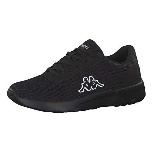 Kappa Herren Tunes OC Sneaker, Schwarz (Black 1111), 46 EU