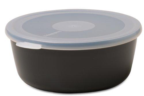 Mepal schaal met deksel volumia 500 ml, plastic, zwart, 15,8 x 15 x 6,2 cm