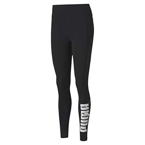 PUMA Rebel Leggings Mallas Deporte, Mujer, Black, XS